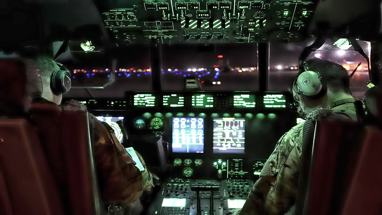 Inside A B52 Cockpit  Takeoff To Landing  YouTube
