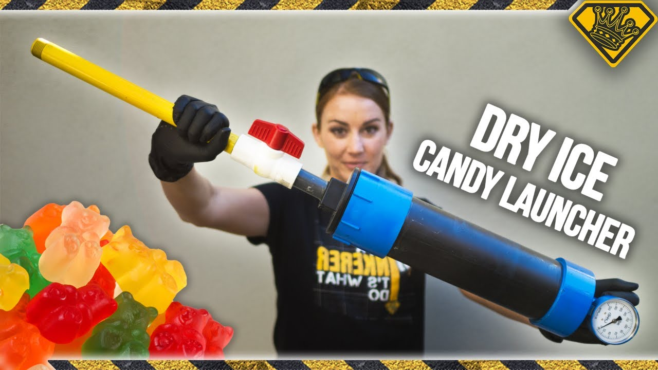 Dry Ice Candy Launcher