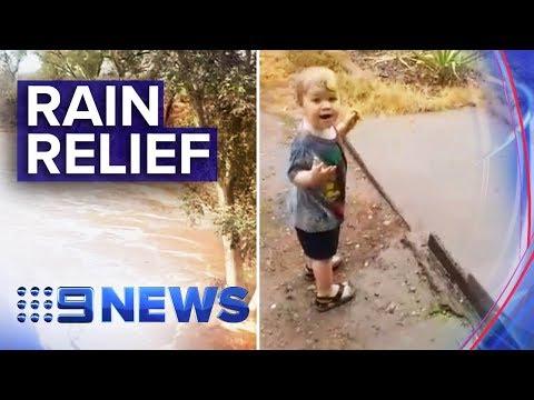NSW Rain Eases Bushfires And Fills Local Dams   Nine News Australia