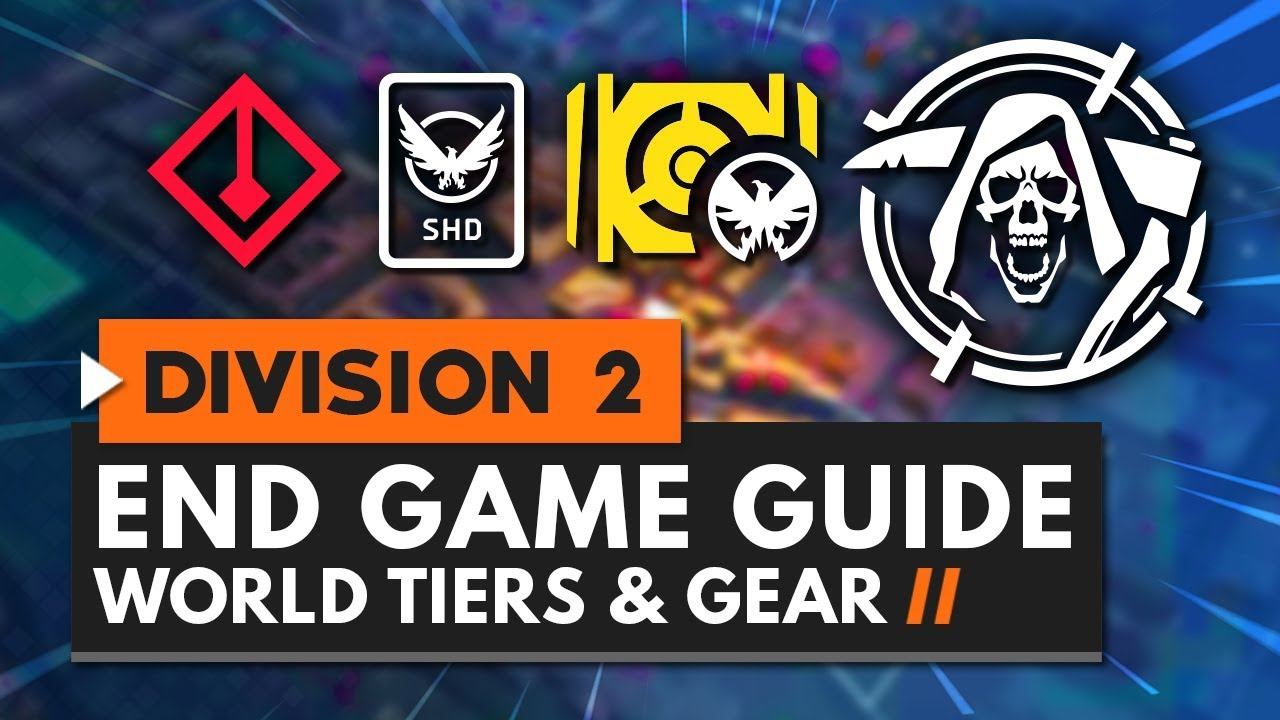 The Division 2 endgame guide: how to find blueprints