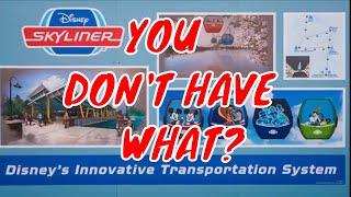The Skyliner Gondola System Around Walt Disney World May Be Missing Something Very Important