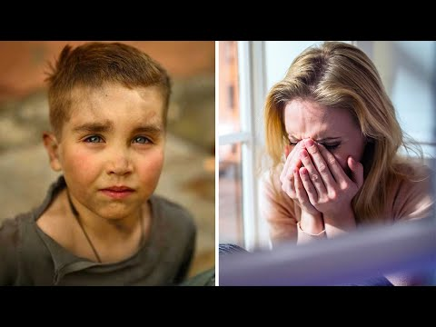 Она помогла одному ребенку, но через несколько лет она выяснила кем он стал и расплакалась.