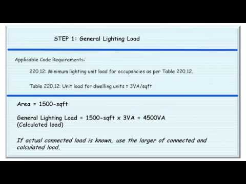 Electrical Load Calculations S&le  sc 1 st  YouTube & Electrical Load Calculations Sample - YouTube azcodes.com