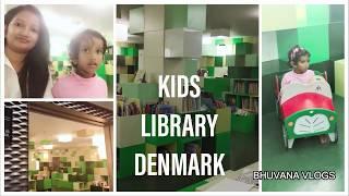 A day in my life vlog in TAMIL | Kids library in Denmark | DIML | Tamil vlog in Denmark