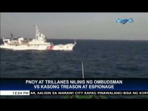 Ombudsman dismisses espionage, treason cases vs Aquino and Trillanes on China back-channel talks