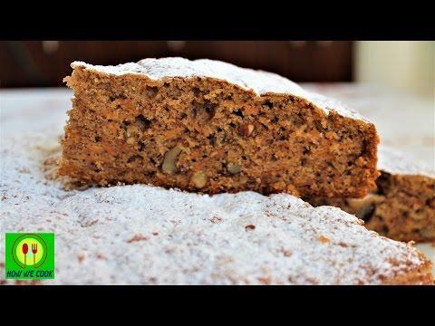 Приготовить Морковный пряный пирог Starbucks Короткий видео рецепт How we cook Havuç keki онлайн видео
