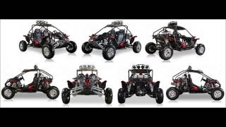 bms cherry bomb red gas 2 cylinder 586cc buggy go kart 600