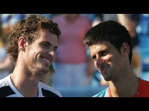 Cincinnati Masters Tennis 2008 Final Highlights - Andy Murray v Novak Djokovic