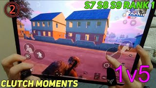 The Best SQUAD WIPES With HANDCAM #2 | Clutch Moments - PUBG Mobile