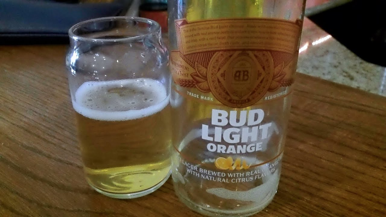 Bud Light Orange (4.2% ABV) DJs BrewTube Beer Review #1137