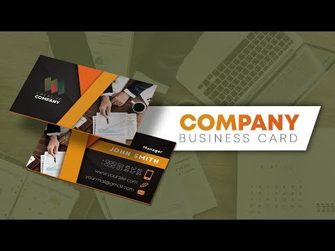 Tutorial Video - How to create Business Card in Photoshop thumbnail