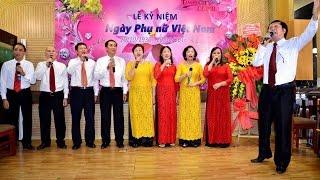 Lễ Kỷ niệm ngày Phụ nữ Việt Nam 20/10/2016 P1