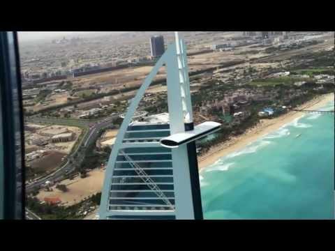 Burj al Arab Helicopter landing HD