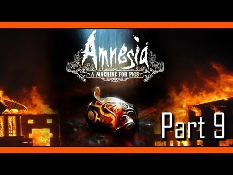 Zalzar plays: Amnesia A Machine for Pigs, Part 9 - LONDON'S BURNING!