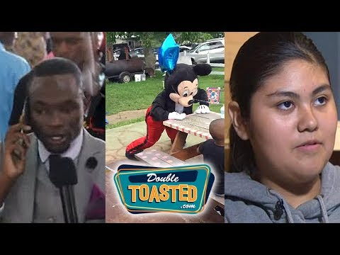 A TWERKING MICKEY MOUSE AND THE TOP 5 FOOLISHNESS - Double Toasted Highlight