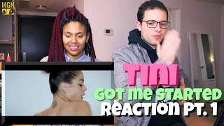 TINI - Got Me Started Reaction Pt.1