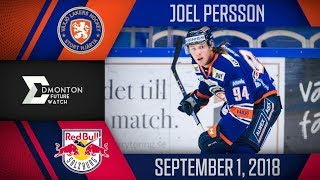 Joel Persson | Two Assists vs Salzburg | Sep. 1, 2018