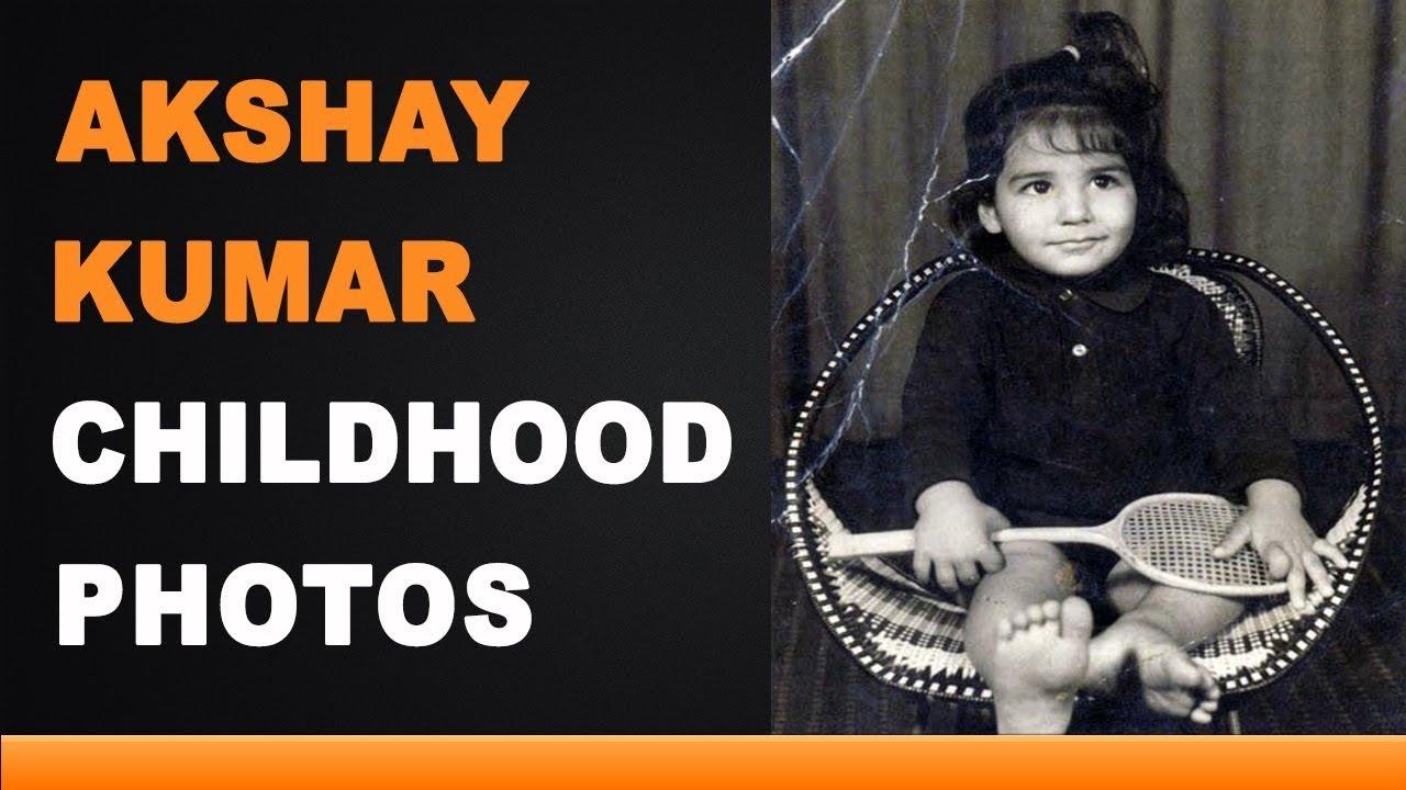 Akshay Kumar Childhood Photos