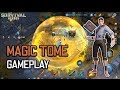 Moba + Battle Royale : Magic Tome Solo Gameplay  Survival Heroes