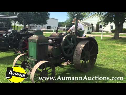 Rumely OilPull Model 15-25 L - Raymond Slabaugh Collection Auction