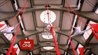 BBC ONE ident 2002 to 2006 - Acrobats
