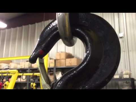 See What Happens to a Hook When You Overload a Hoist