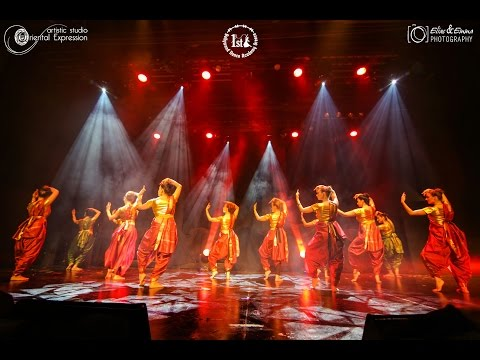 Apsara Aali   Mega Bollywood Show - 1st Bollywood Dance Academy Greece