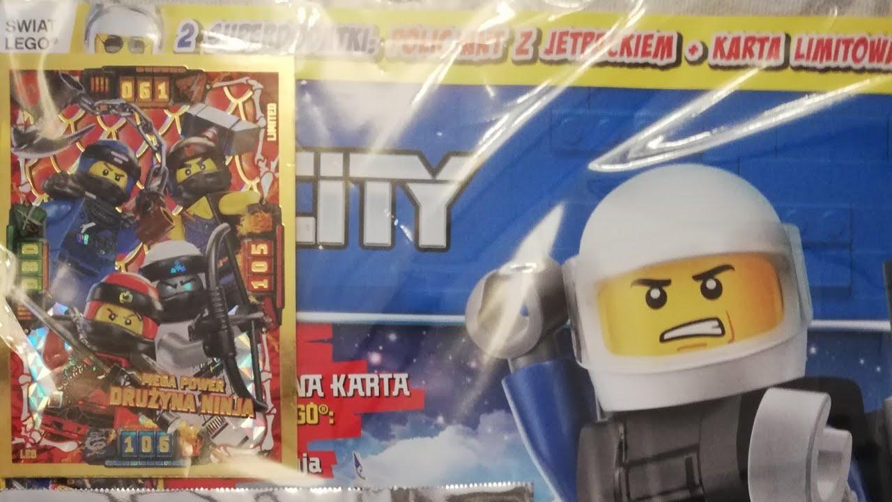 Lego City Magazyn Nr 42019 Youtube
