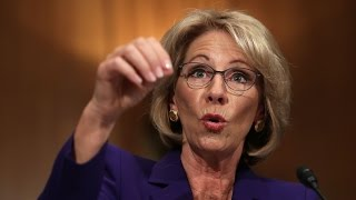 Repeat youtube video BETSY DEVOS: Guns in school protect against grizzly bears
