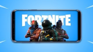 Fortnite Battle Royale - Android Reveal Trailer