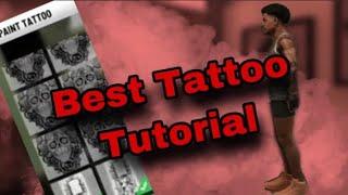Comp Tattoo Tutorial - NBA 2k20