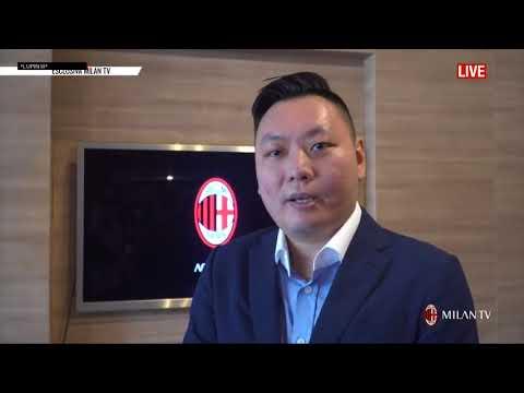 A C  Milan Intervista A David Han Li 20 08 2017 Sub Ita