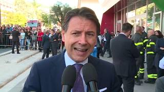 Isernia, punto stampa del Presidente Conte