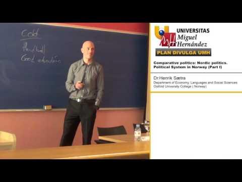COMPARATIVE POLITICS: NORDIC POLITICS. POLITICAL SYSTEM IN NORWAY (PART I)