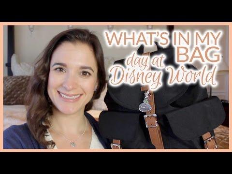 What's In My Bag | Herschel Supply Co Dawson Mid Volume Backpack | Disney World Day Bag