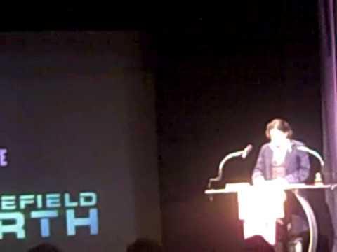 Razzie 2010 Award - Battelfield Earth  Worst film of the decade acceptance speech
