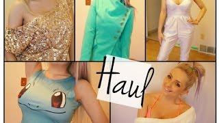 New Clothing Haul