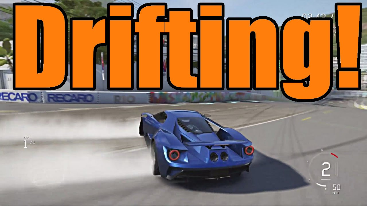 Forza Motorsport  Ford Gt Drifting Direct Feed P Hd