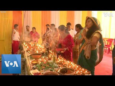 Devotees in India