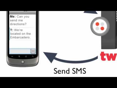 Introducing the Twilio SMS API
