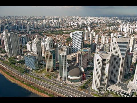 São Paulo Dia e Noite - Teste da Câmera Drone  DJI Phanton 3 Advanced
