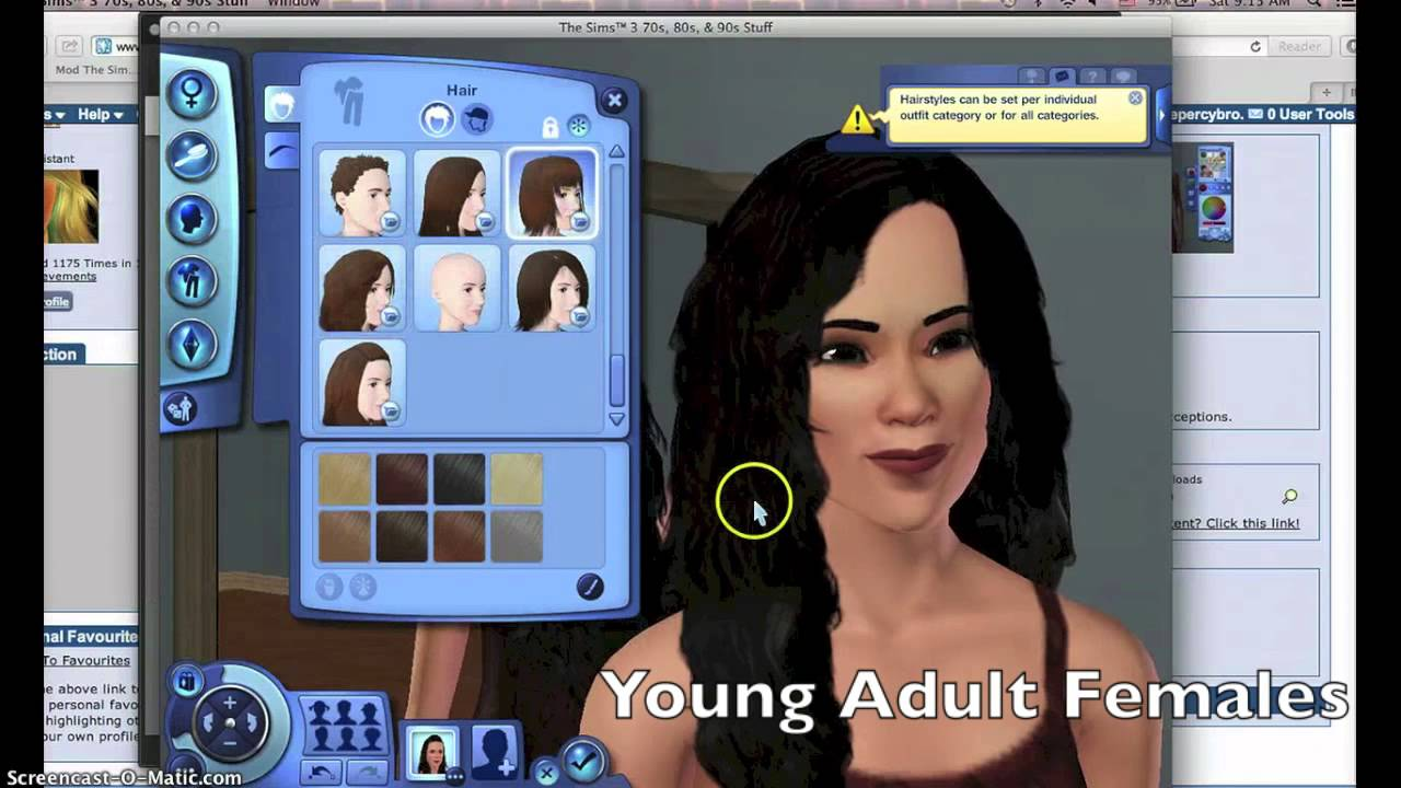 How to download custom content for sims 3 on mac!!!! Mac only.