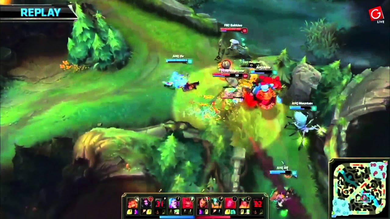 2015-LOL-S5-世界賽Garena中文轉播D3 AHQ vs Fnatic 貪啃奇PLAY-1 - YouTube