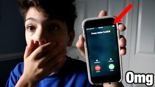 prank calling my creepy stalker fan he comes to my house