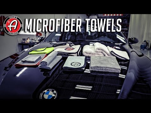 Microfiber Towels | Differences and Uses