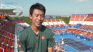 Kei Nishikori back playing at top level in Acapulco: pre-tournament interview