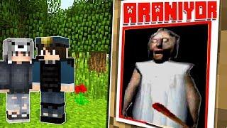 KORKUNÇ BÜYÜKANNEYİ POLİSLER ARIYOR! 😱 - Minecraft