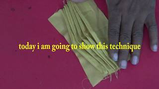 fashion designing secret technique pleats design you can use any dresses prasanta kar 4