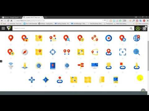 How To Download The Vector Icons