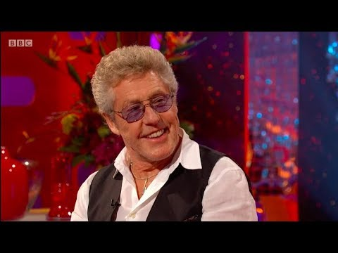 Roger Daltrey interview on The Graham Norton Show. 13 Apr 2018